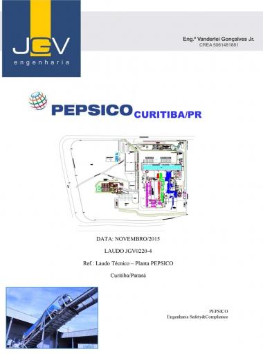 Laudo Técnico - Planta Pepsico Curitiba/Paraná